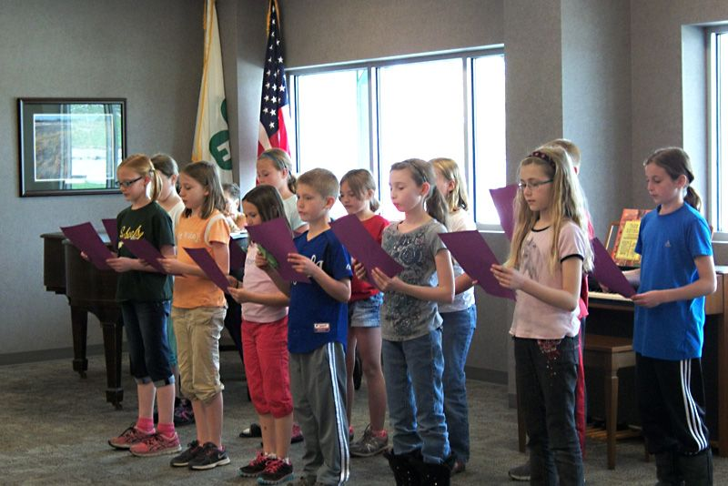 Arbor Day program in Seward, Nebraska