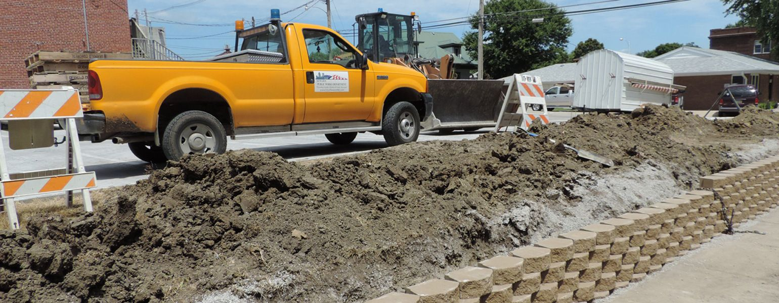 Public Works Department - City of Seward Street Division vehicle